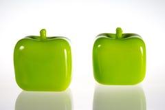 Morceaux de décoration d'Apple Images libres de droits