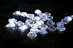 Morceaux de glace Images stock