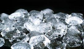Morceaux de glace Photo libre de droits