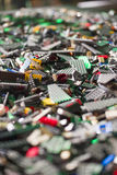 Morceaux de Lego Photo stock