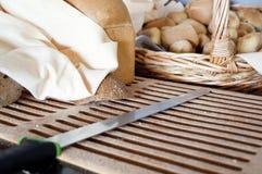 Morceaux de pain Image stock