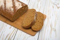 Morceaux de pain fait maison Photo libre de droits