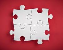 Morceaux de puzzle Photos stock
