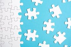 Morceaux de puzzle Photo libre de droits