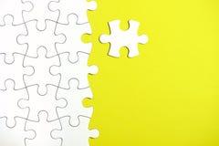 Morceaux de puzzle Photographie stock libre de droits