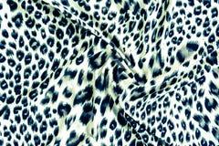 Morceaux de textile de tigre d'habillement noirs et blancs Photographie stock libre de droits