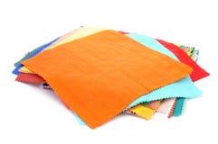 Morceaux de tissu Photo libre de droits