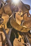 Morceaux de violons Photographie stock libre de droits