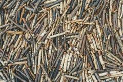 Morceaux en bois Image stock