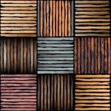 Morceaux en bois de planche Images stock