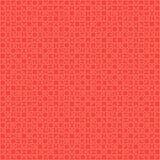 900 morceaux matériels de conception de rouge - puzzle Photos stock