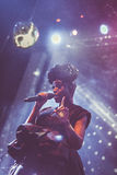 Morcheeba and Skye Edwards in Moscow Stock Images