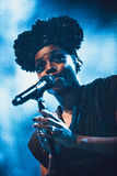 Morcheeba and Skye Edwards in Moscow Royalty Free Stock Images