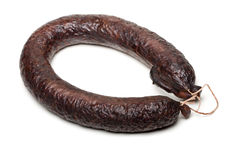 Morcilla. spanish blood sausage Stock Photo