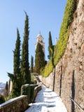 Morcote, церковь Santa Maria del Sasso Стоковая Фотография