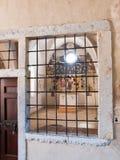 Morcote, церковь Santa Maria del Sasso Стоковые Изображения
