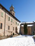 Morcote, церковь Santa Maria del Sasso Стоковые Изображения RF