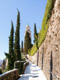 Morcote, kościół Santa Maria Del Sasso Fotografia Royalty Free