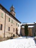 Morcote, kościół Santa Maria Del Sasso Obrazy Royalty Free
