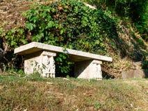 Morcote, parco di Scherrer Fotografia Stock