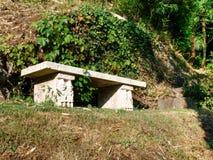 Morcote, parco di Scherrer Immagini Stock Libere da Diritti