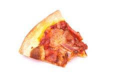 Mordedura de la pizza fresca Fotos de archivo libres de regalías