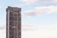 Morden byggnad i Bangkok Arkivfoton