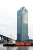 Morden byggnad i Bangkok Arkivbild