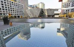Morden byggnad i Peking Royaltyfri Bild