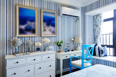 Morden home bedroom decoration Stock Images
