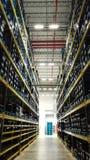The morden warehouse for storing purchasing parts. The modern warehouse for storing purchasing parts Stock Photos