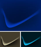 Morden waves effects background. A vector wallpaper of blue waves effects background Royalty Free Stock Photo