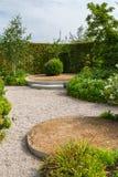 Mordern garden design with terraces