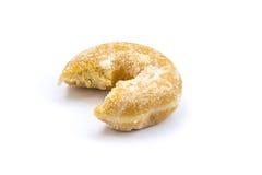Mordida de Donnut imagem de stock