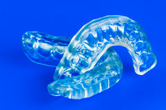 Mordida dois dental fotografia de stock royalty free