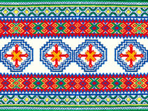 Mordovian national embroidery. Stock Images