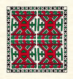 Mordovian national embroidery. Stock Photos