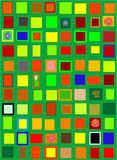 More color. Colorful squares illustration useble as background stock illustration