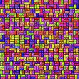 More color cubes texture stock illustration