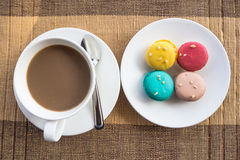 More colorful macarons Stock Photography