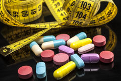 More Colorful Pills Stock Photos