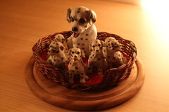 More Dalmatians. One Hundred and One Dalmatians royalty free stock images