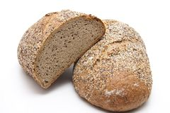 More grain bread Royalty Free Stock Images