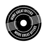 More Great Offers rubber stamp Royalty Free Stock Image