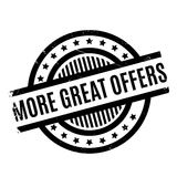More Great Offers rubber stamp Royalty Free Stock Photo
