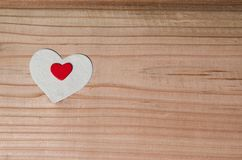 More hearts, to tell you I love you. In the most important day of life, on a wooden background. family, Valentine Day, Wedding Love Concept Stock Photography