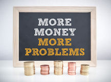 More money more problems Stock Photography
