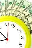 More money more time Royalty Free Stock Photos