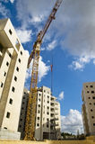 More New Lodgings. At one of the building grounds in Big Tel Aviv Royalty Free Stock Photography