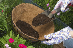 More potting soil Stock Photography